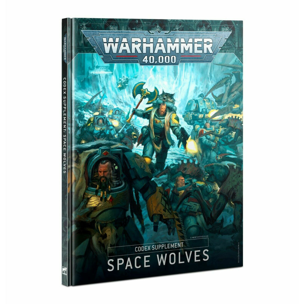Warhammer CODEX: SPACE WOLVES (HB) New - TISTA MINIS