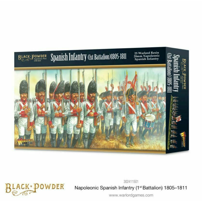 Black Powder - Spanish Infantry (1st Battalion) 1805-1811 New
