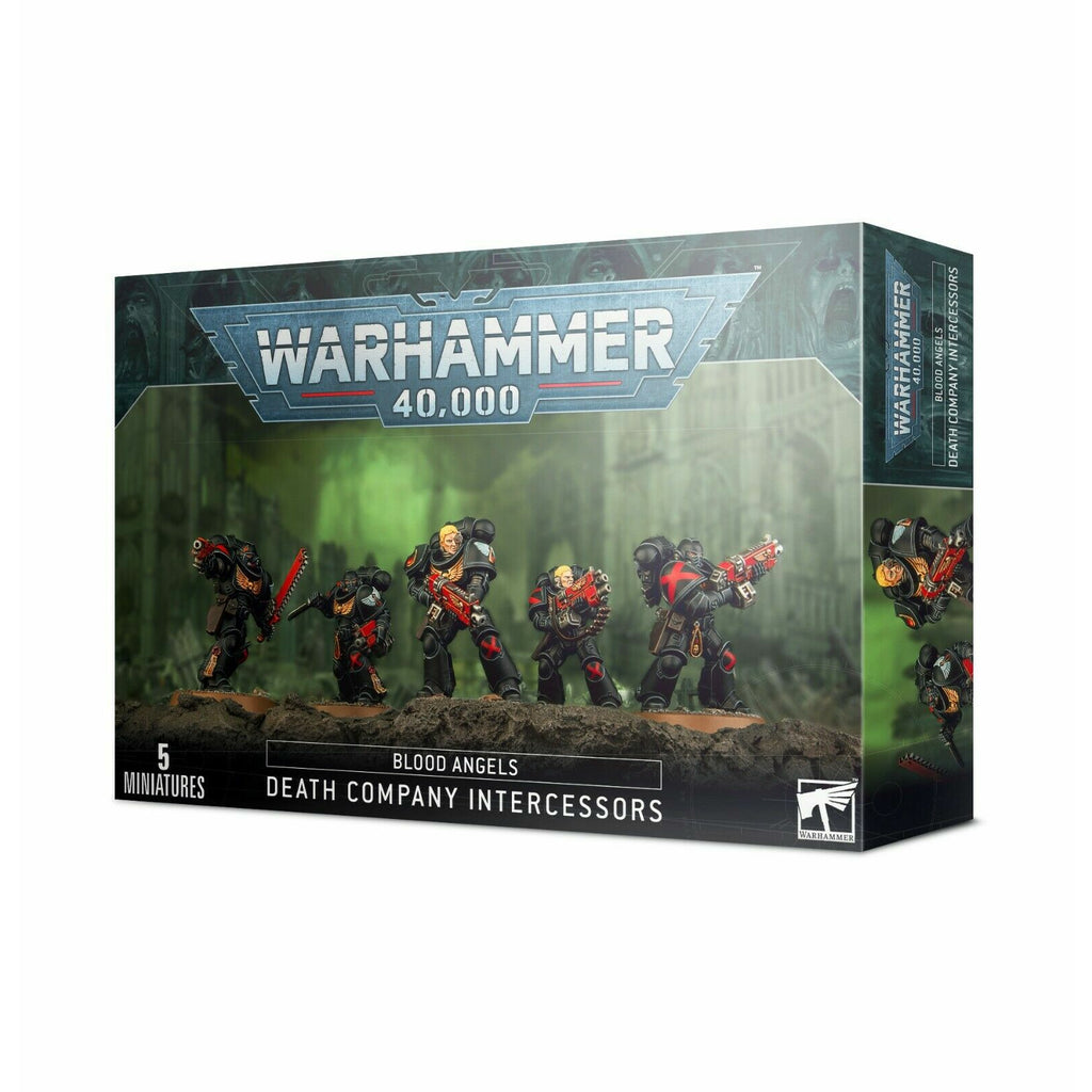 Warhammer BLOOD ANGELS: DEATH COMPANY INTERCESSORS New - TISTA MINIS