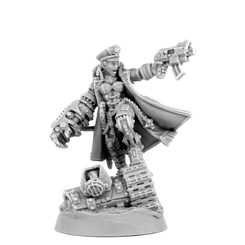 Wargame Exclusive IMPERIAL SOLDIER FEMALE BRAVE COMMISSAR New
