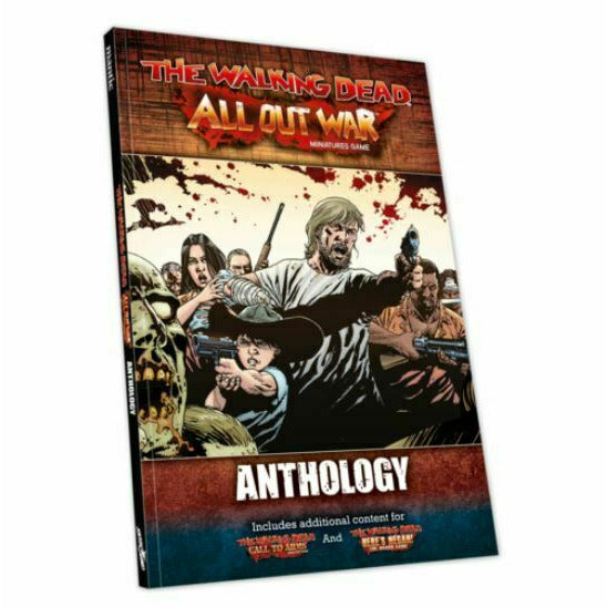 The Walking Dead: Rulebook - All Out War Anthology New - TISTA MINIS