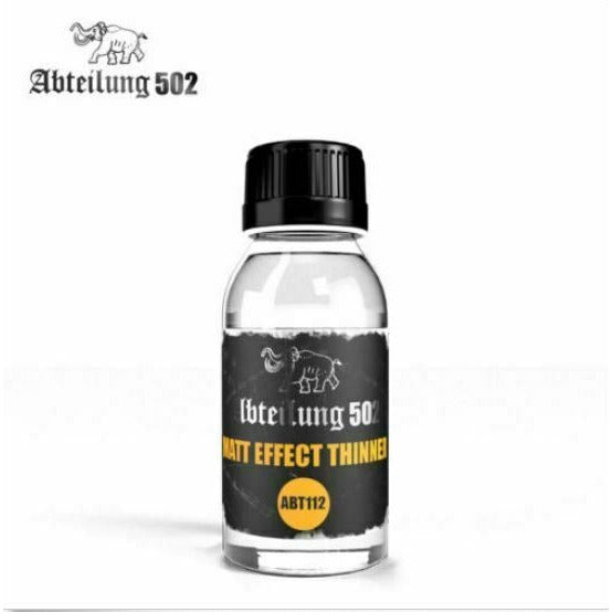 Abteilung502 Matt Effect Thinner New - TISTA MINIS