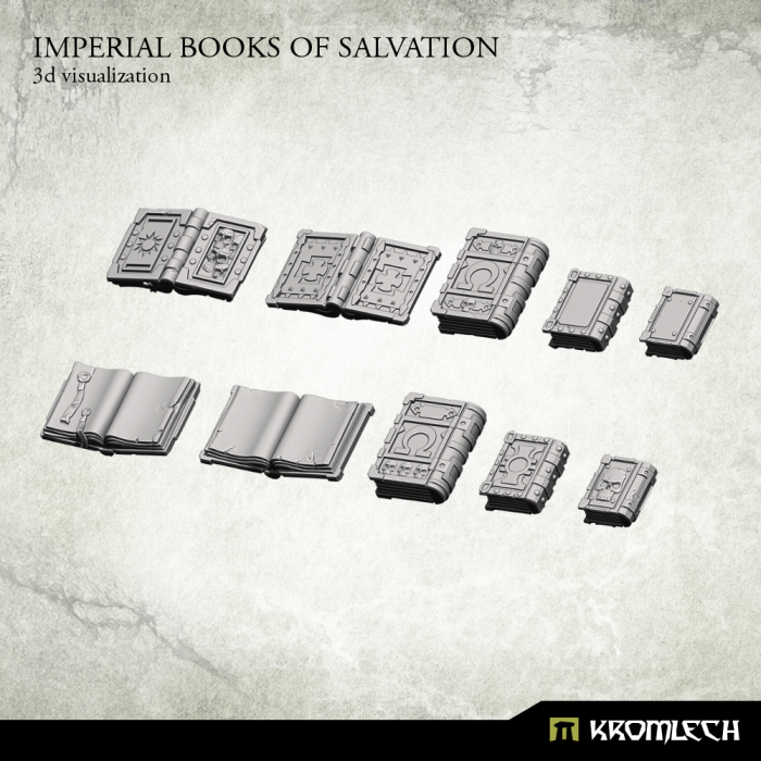 Kromlech Imperial Books of Salvation New