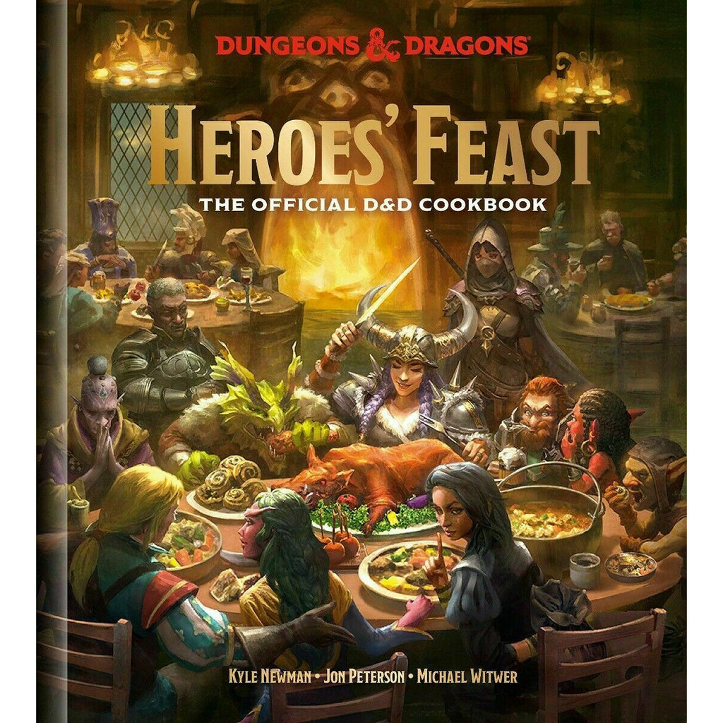 HEROES' FEAST: DUNGEONS & DRAGONS COOKBOOK New