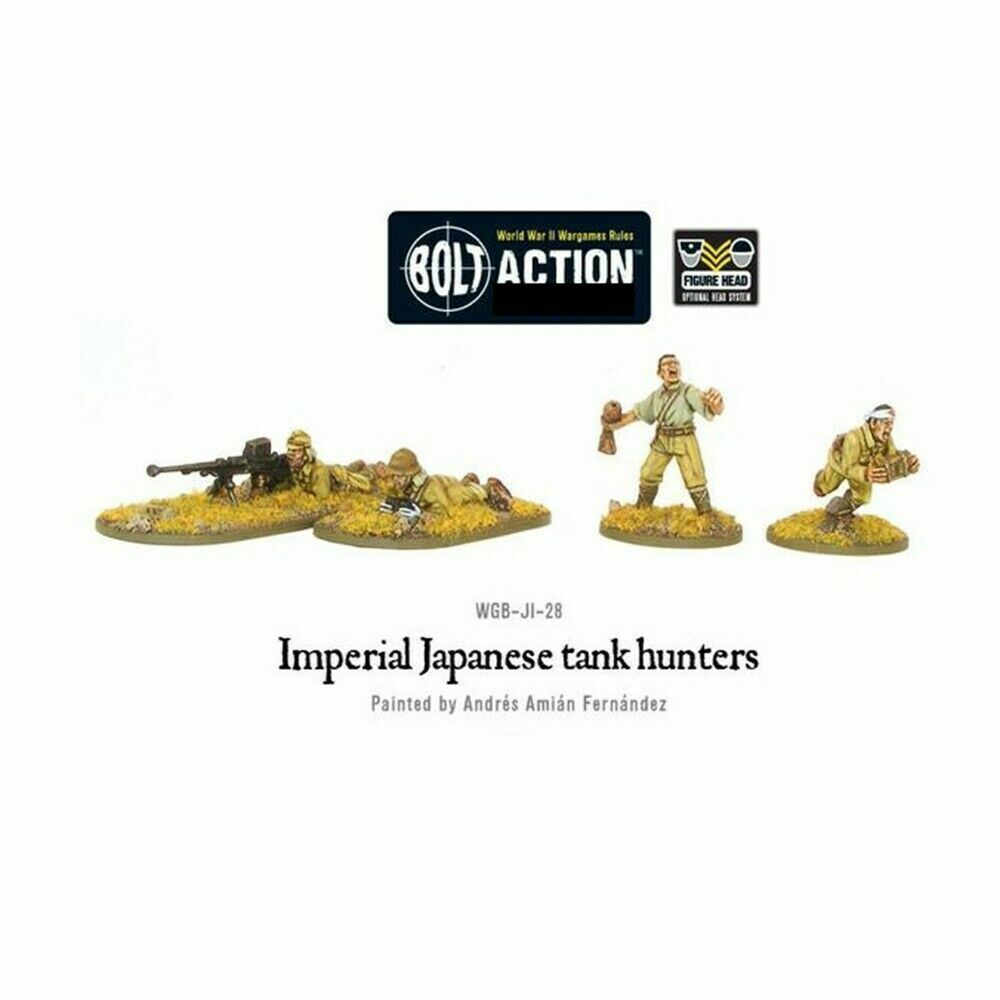 Bolt Action Japanese Tank Hunters New - WGB-JI-28