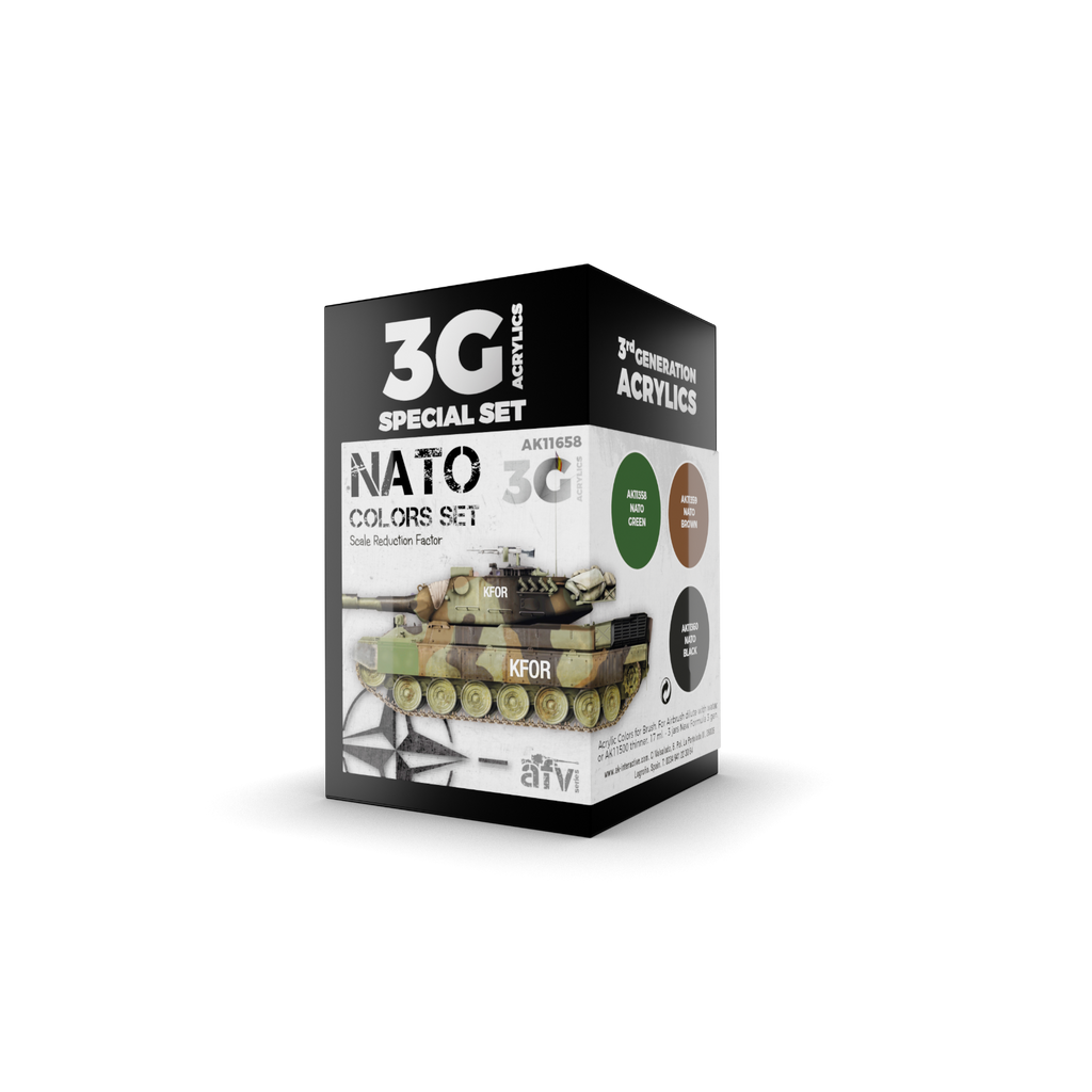 AK Interactive 3G NATO Colors New - Tistaminis