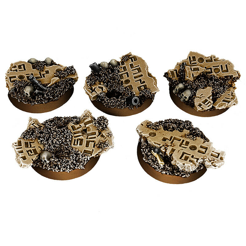 Wargames Exclusive - GREATER GOOD BASE SET (25MM) X5 New