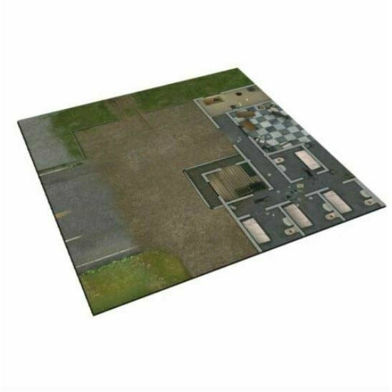 The Walking Dead: Neoprene Deluxe Mat Prison Grounds New - TISTA MINIS