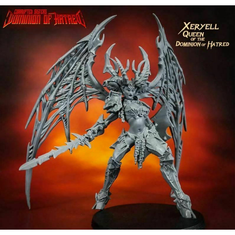 Raging Heroes - XERYELL, QUEEN OF THE DOMINION OF HATRED New
