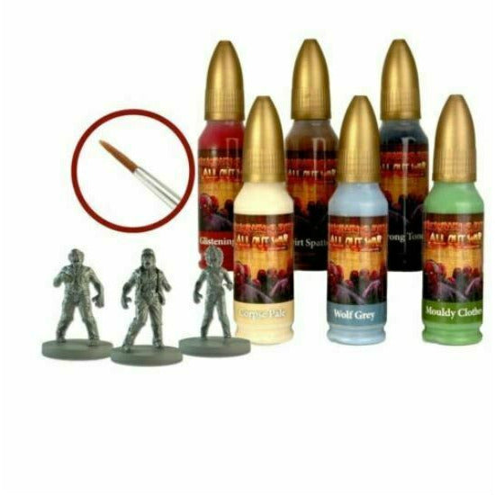 The Walking Dead: Walker Paint Set New