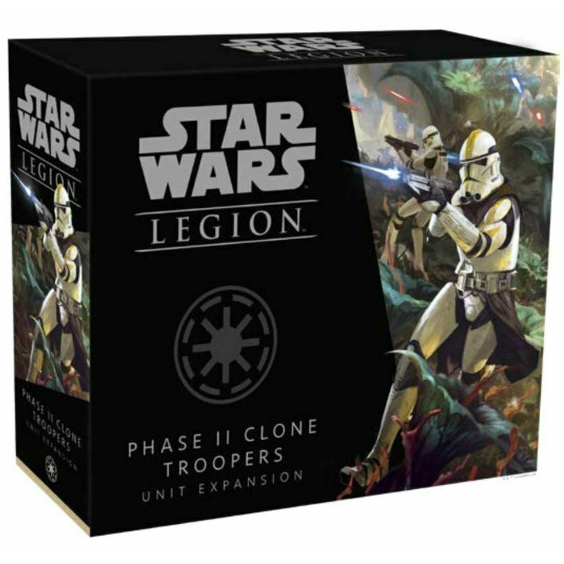 Pre-Order STAR WARS LEGION: PHASE II CLONE TROOPERS UNIT