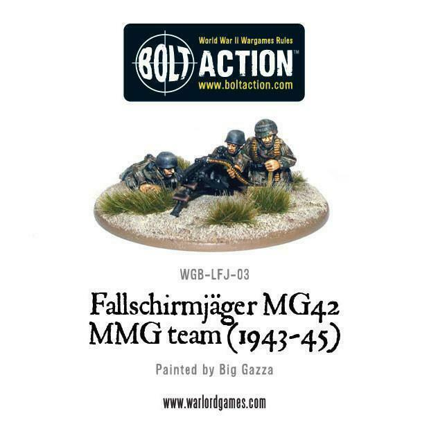 Bolt Action German Fallschirmjager MG42 MMG team (1943-45) New