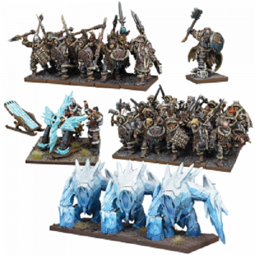 Kings of War Northern Alliance Army New - TISTA MINIS