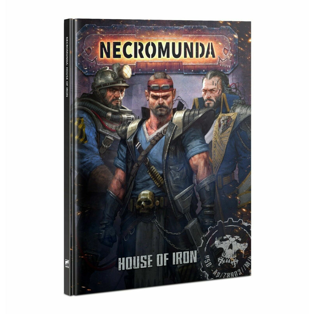 Warhammer NECROMUNDA: HOUSE OF IRON New - TISTA MINIS