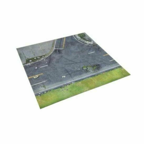 The Walking Dead: Neoprene Deluxe Mat Core Game New - TISTA MINIS