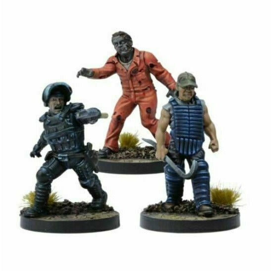 The Walking Dead: W3 Rick Prison Advisor Booster New