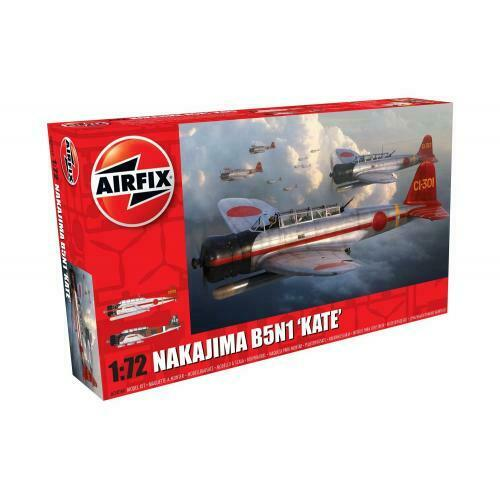 Airfix NAKAJIMA B5N1 KATE AIR04060 (1/72) New - TISTA MINIS