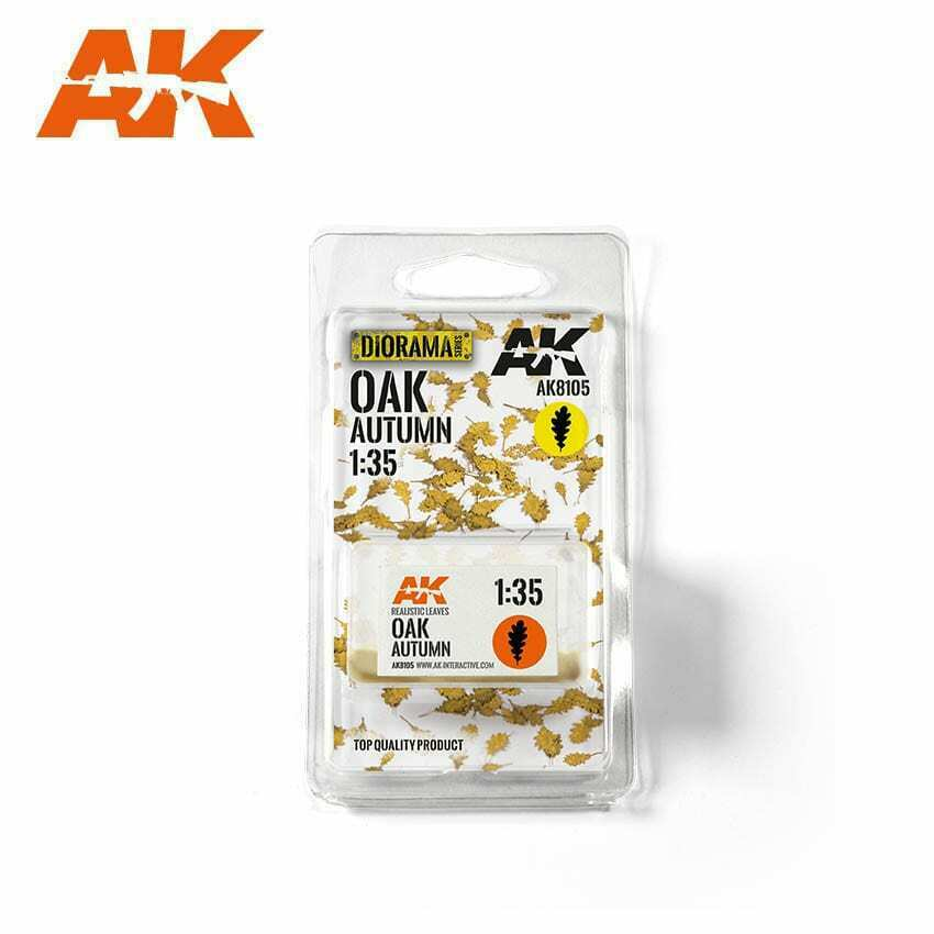 AK Interactive Oak Autumn 1/35 Scenic Basing Dry Leaves New