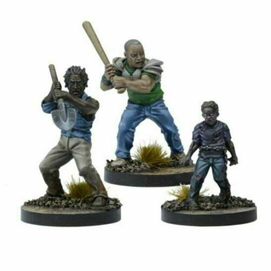 The Walking Dead: W3 Morgan, Distraught Father Booster New - TISTA MINIS