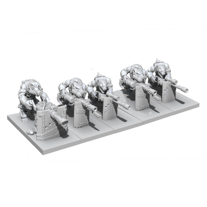Kings of War Ratkin Clawshots Troop Pre-Order - TISTA MINIS