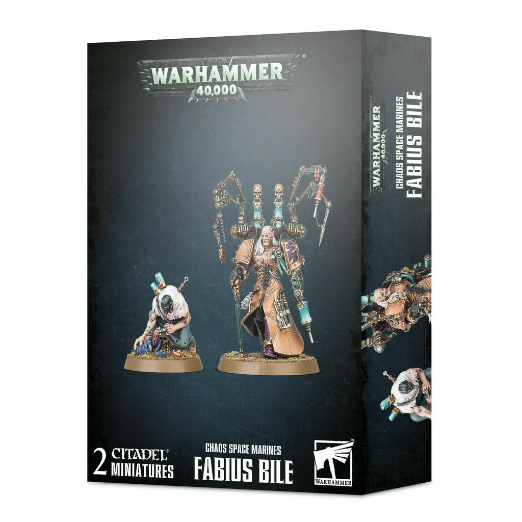 Warhammer CHAOS SPACE MARINES FABIUS BILE New