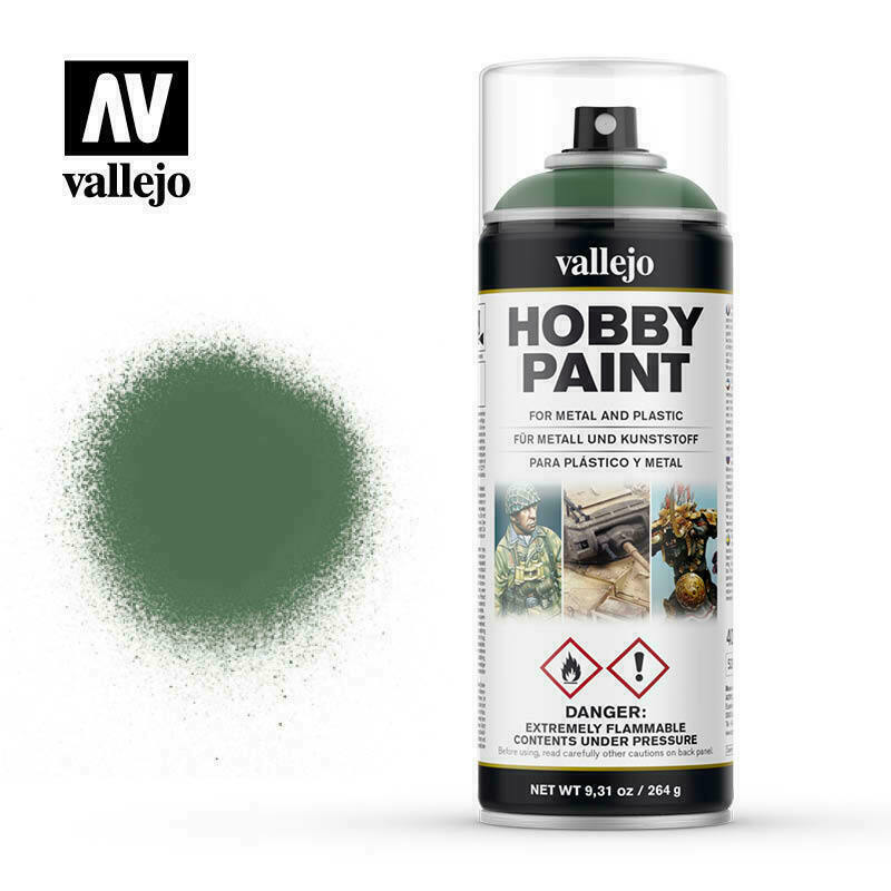 Vallejo Spray Paint Hobby Primer Sick Green New - TISTA MINIS