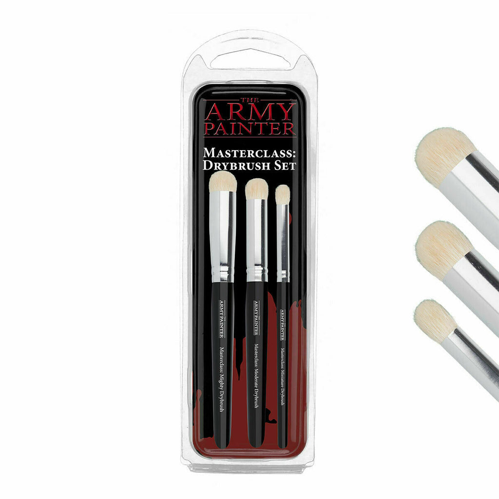 The Army Painter Masterclass Drybrush Set New - TISTA MINIS