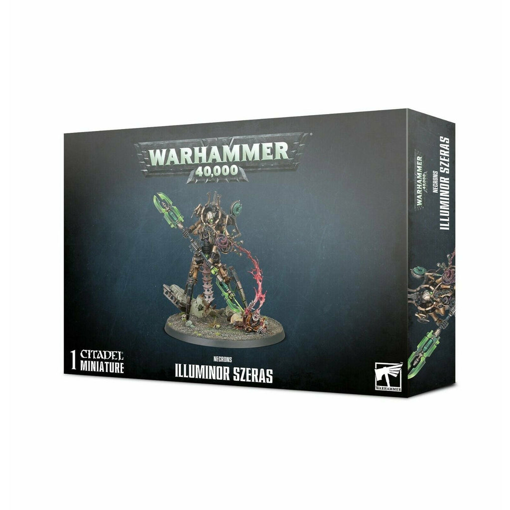 Warhammer NECRONS ILLUMINOR SZERAS New