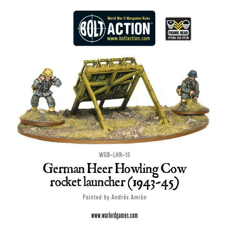 Bolt Action German Heer Howling Cow Rocket Launcher (1943-45) New