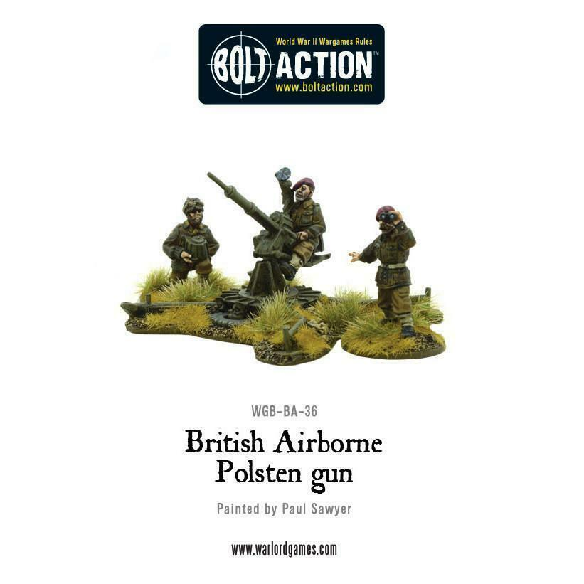Bolt Action British Airborne Polsten Gun New