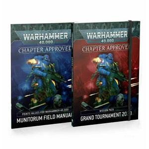 Warhammer WH40K: GRAND TOURNAMENT Chapter Approved 2020 New