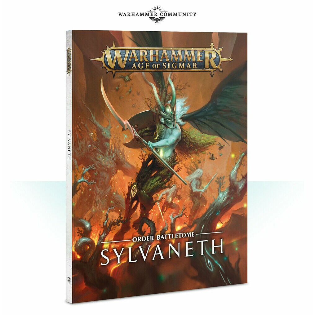 Warhammer Wood Elves BATTLETOME: SYLVANETH New
