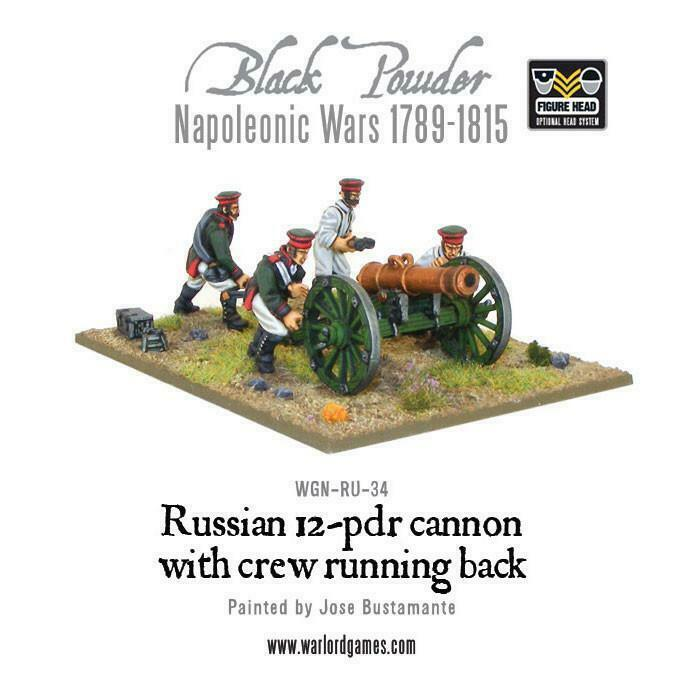 Black Powder Napoleonic Russian 12 pdr Cannon (1809-1815) New
