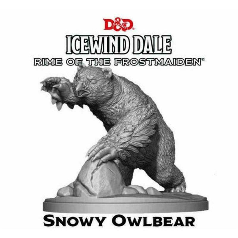 "Dungeons & Dragons ""Icewind Dale: Rime of the Frostmaiden"" - Snowy Owlbear  New"