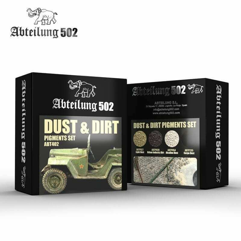 Abteilung502 Dust & Dirt - Pigments Set New - TISTA MINIS