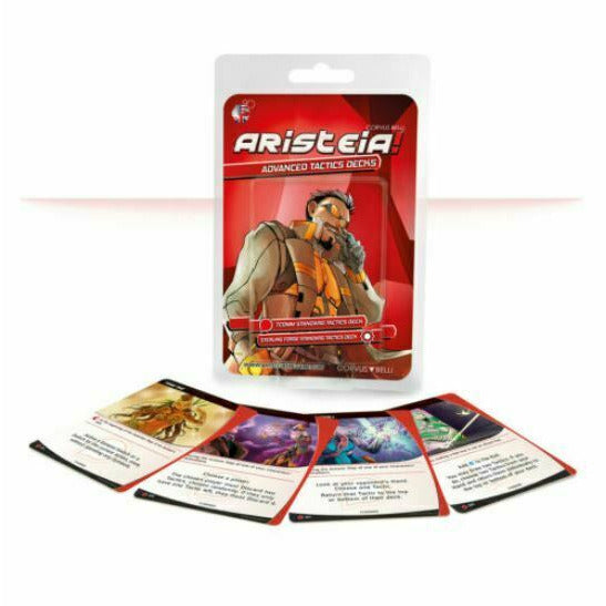 Aristeia! Aristeia Advanced Tactics Decks New - TISTA MINIS