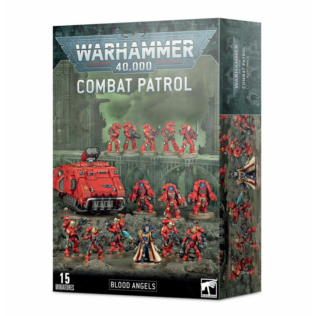 Warhammer COMBAT PATROL: BLOOD ANGELS New - TISTA MINIS
