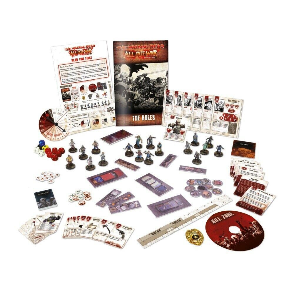 The Walking Dead Miniatures Game Core Set New