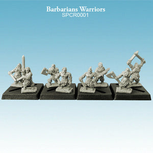 Spellcrow Barbarians Warriors - SPCR0001