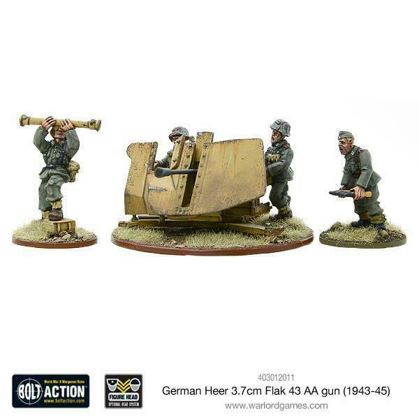 Bolt Action German Army 3.7cm Flak 43 New