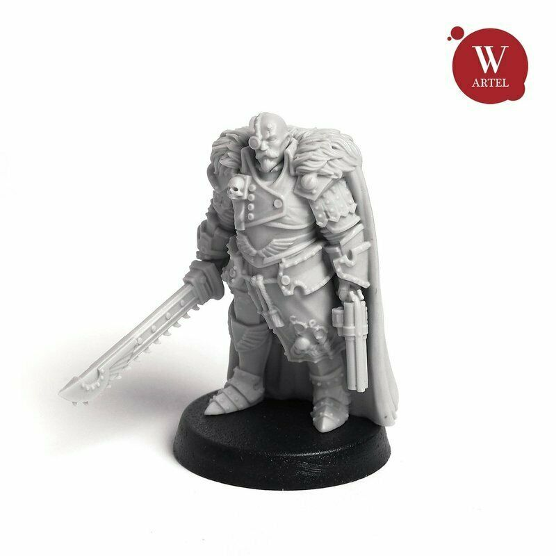"Artel Miniatures - Jack ""Captain Blood"" Meinhardt 28mm New"