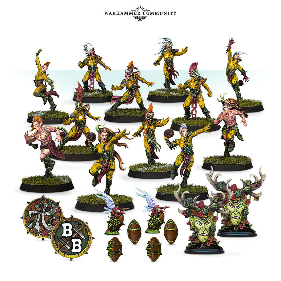 Warhammer BLOOD BOWL: THE ATHELORN AVENGERS New | TISTAMINIS