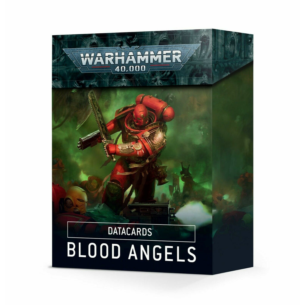 Warhammer DATACARDS: BLOOD ANGELS New - TISTA MINIS