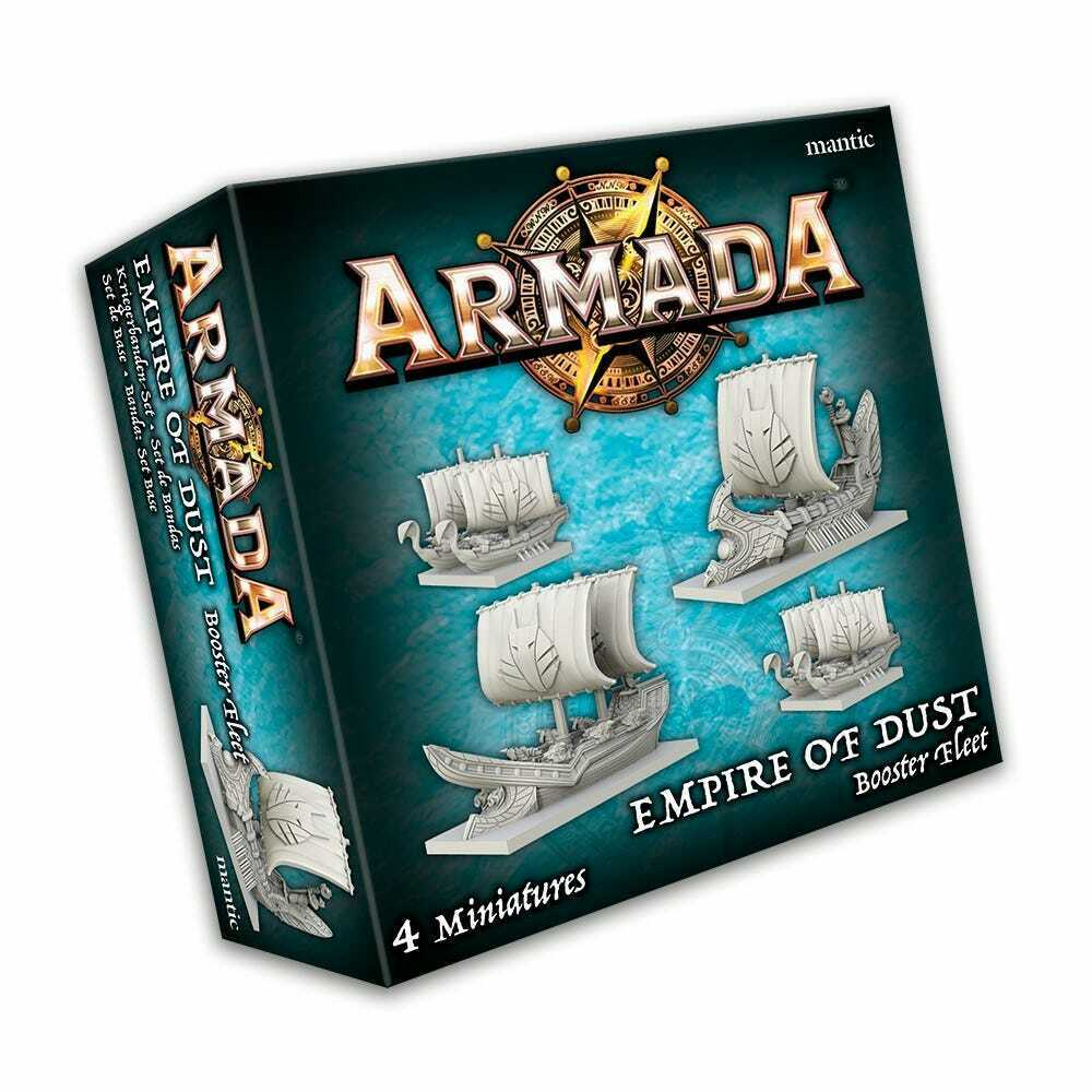 Mantic Games Armada: Empire of Dust Booster Fleet New