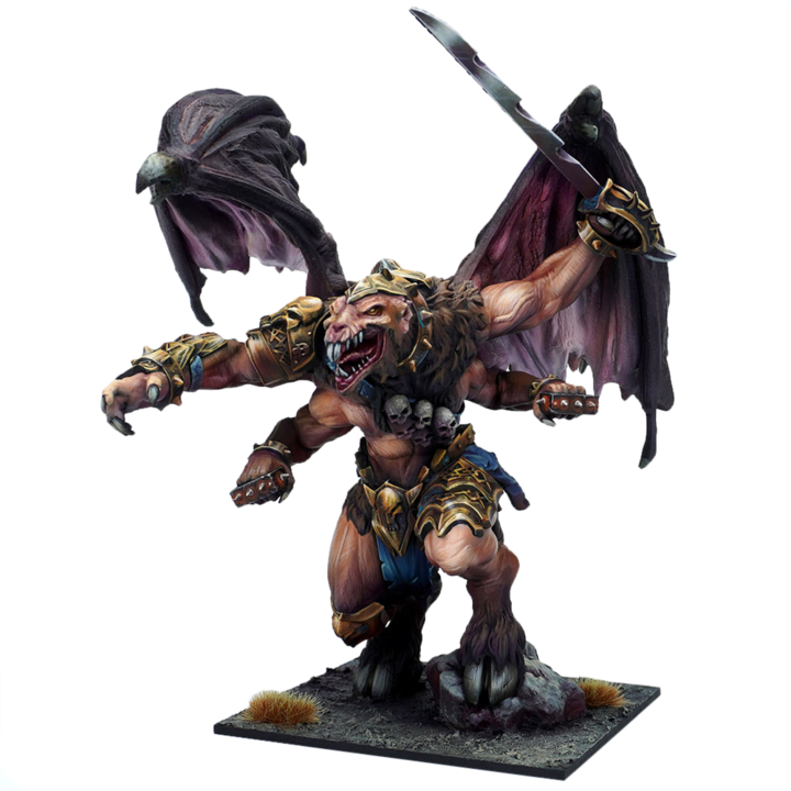 Kings of War Ratkin Scudku-Z'luk, Demonspawn of Diew Pre-Order - TISTA MINIS