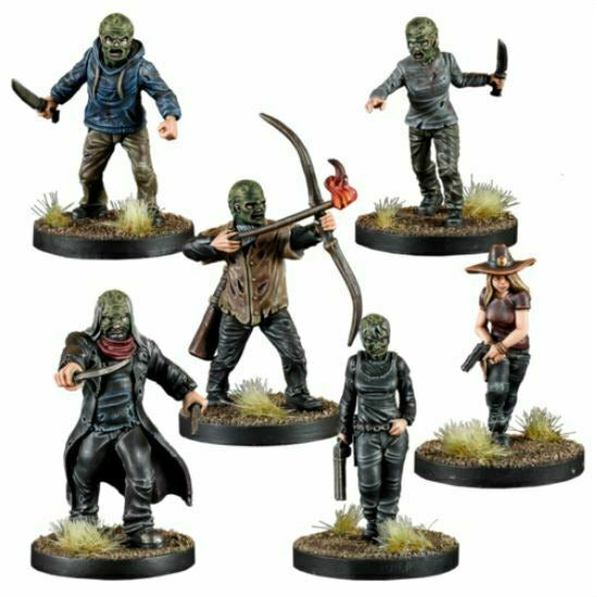 The Walking Dead: Rulebook - The Whisperers Faction Set New - TISTA MINIS