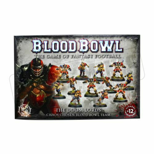 Warhammer Blood Bowl The Doom Lords Team