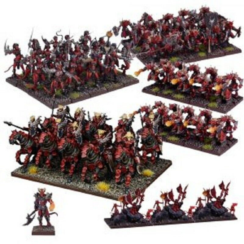 Kings of War Forces of the Abyss Army New