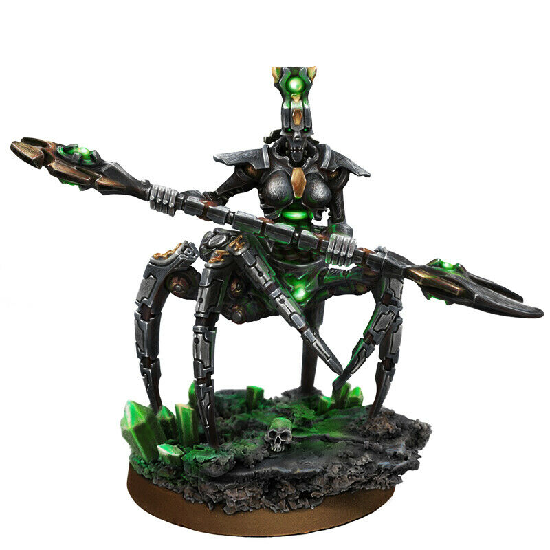 Wargame Exclusive NECROCYBORG BLACK WIDOW LADY OF DESTRUCTION New