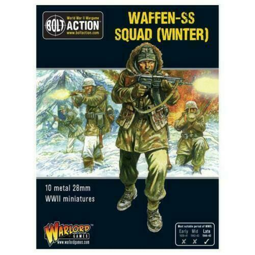Bolt Action German Winter Waffen SS Squad New - 402212110
